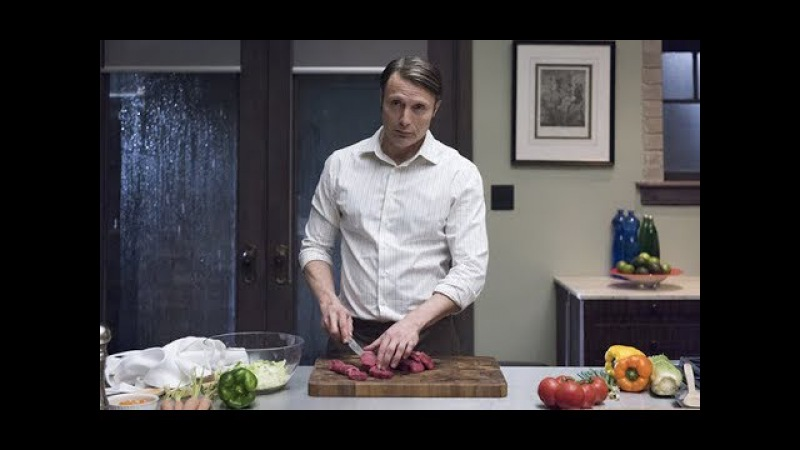 ASMR hannibal lecter cooking