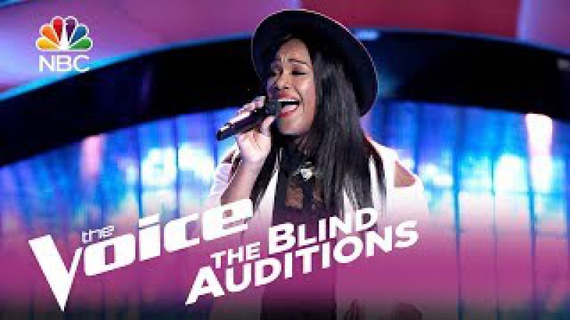 """The Voice 2017 Blind Audition - Keisha Renee: """"I Can't Stop Loving You"""""""