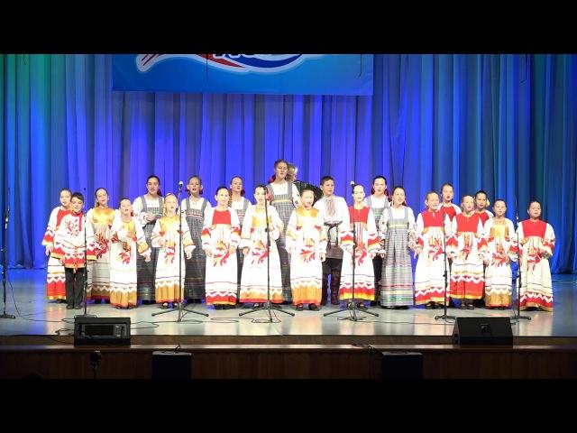 Хор народной песни «Оберег», г.Арсеньев - Как во чистом поле