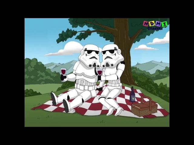 Гриффины - ЛУЧШИЕ моменты. Звёздные войны - Я твой отец. HDMI58