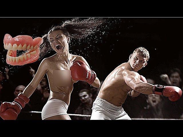 НЕРАВНЫЕ БОИ МУЖЧИН И ЖЕНЩИН В MMA