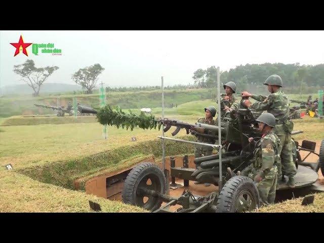 Sư đoàn 324 QK4 diễn tập vòng tổng hợp bắn đạn thật