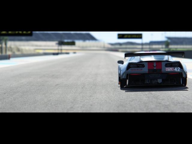 Corvette C7R Hot Lap @ Bahrain Assetto Corsa