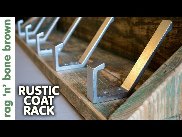 Making A Rustic Coat Rack With Shelf - Pallet Wood Project