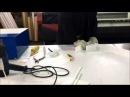 Выклейка объемных букв из оргстекла