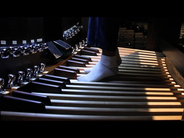 Phantom of the Opera - Organ Piece Played by Kuha'o Case, Blind Self Taught Musical Prodigy