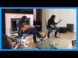 Ace Frehley &amp Gene Simmons $50,000 Home Vault Experience! COLD GIN!