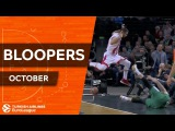 Turkish Airlines EuroLeague Bloopers of October!