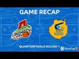Highlights: Lokomotiv Kuban Krasnodar - Herbalife Gran Canaria. Еврокубок. Обзор. Локомотив-Кубань - Гран Канария