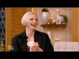 Gwendoline Christie, Matt Smith &amp Seal interview on Live with Kelly and Ryan (December 6, 2017)