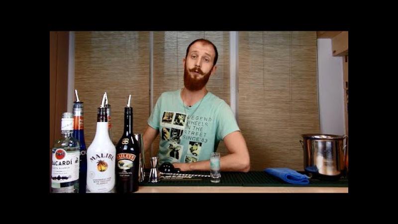 Коктейль Медуза - рецепт, состав и пропорции напитка » Freewka.com - Смотреть онлайн в хорощем качестве