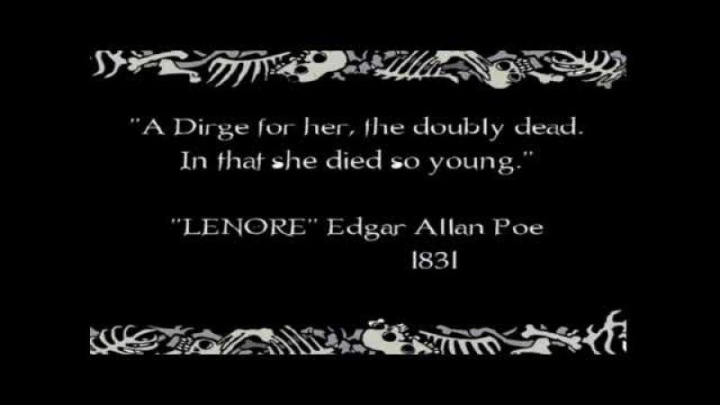 Ленор Маленькая Мертвая Девочка Lenore The Cute Little Dead Girl Заставка Заставки Intro Intros Open