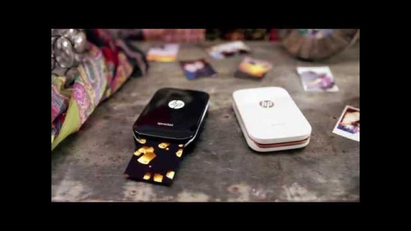 Мобильный фотопринтер HP Sprocket смотреть онлайн без регистрации