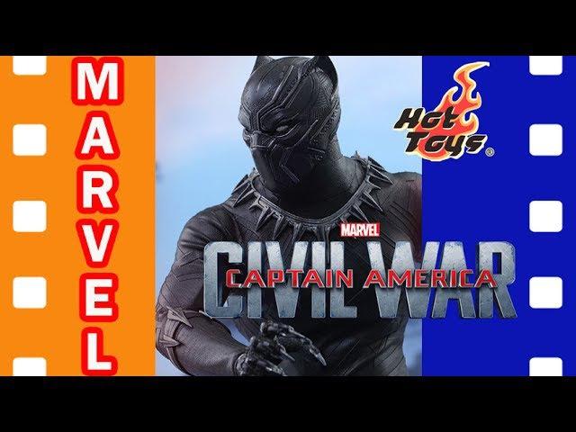Фигурка Черная Пантера | Black Panther Civil War Hot Toys