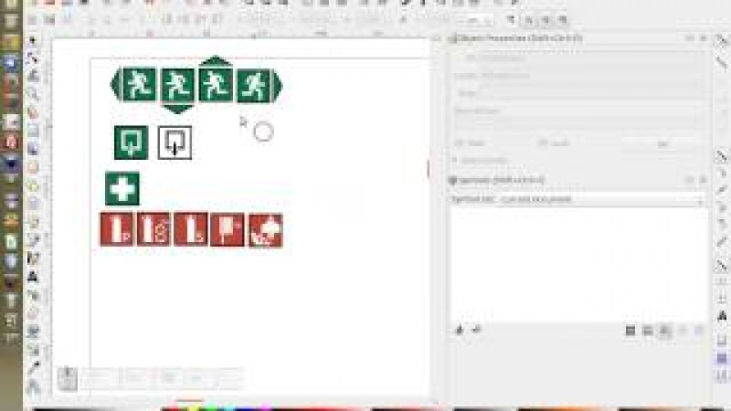 Creating symbol libraries in Inkscape