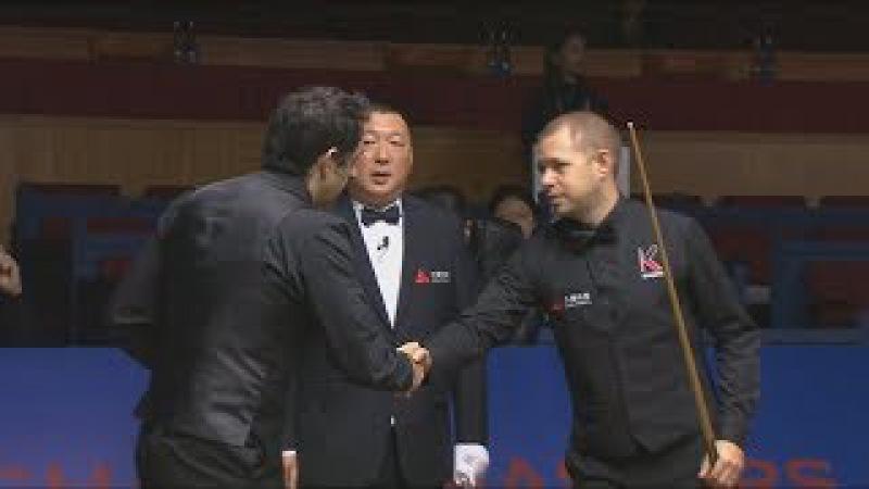 Ronnie O'Sullivan v Barry Hawkins Last 16 Shanghai Masters 2017