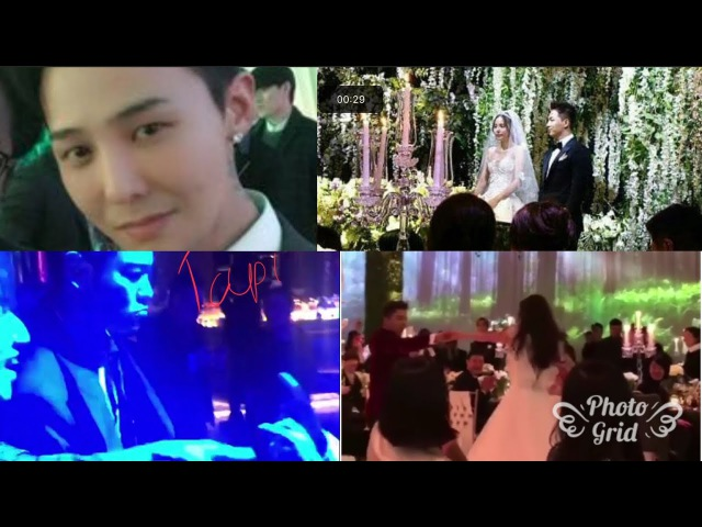 Taeyang sing Eyes, Nose, Lips Dance with Min Hyorin sing GOOD BOY TOP, Seungri became Cameramen