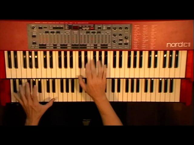 Alligator Bogaloo (Lou Donaldson) - Nord C1 Hammond B-3 Organ Clone Clavia
