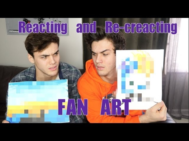 Reacting and Re-creating FAN ART