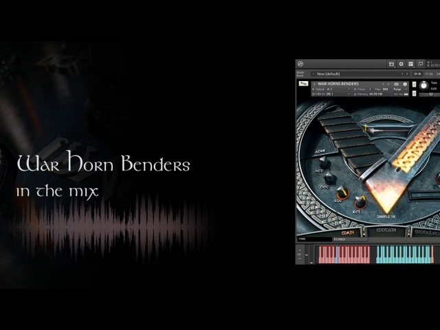 Vikings Cinematic Hybrid Punk Folk - Sound Design Demonstration In A Mix