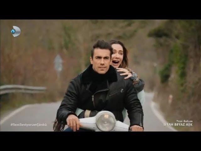 Ferhat ve Aslı'nın Romantik Motor Yolculuğu Siyah Beyaz Aşk 17 Bölüm