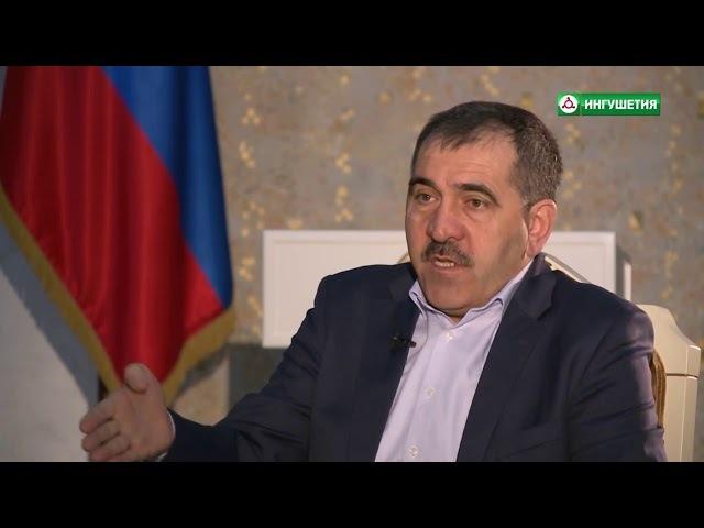 Юнус-Бек Евкуров о визите в Ингушетию Ксении Собчак