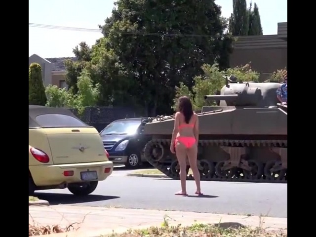 Nobody can resist a tank · coub, коуб