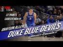Grayson Allen Duke vs Michigan State - Full Coverage | 11.14.17 | Career-High 37 Pts, NBA PRO!