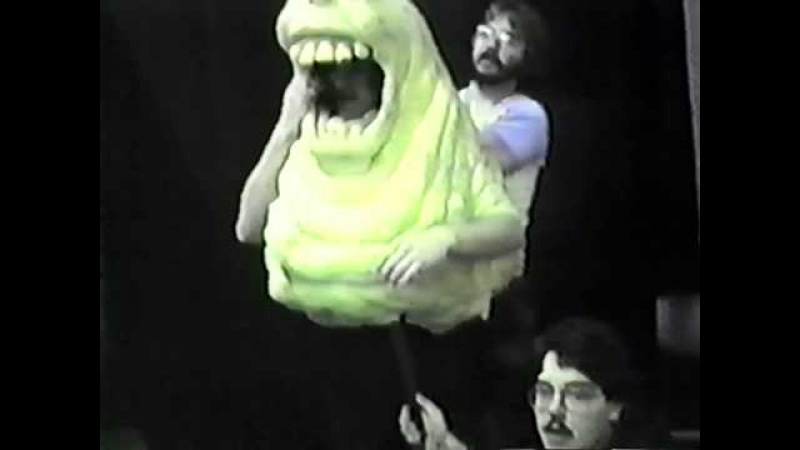 Ghostbusters Special Effects Slimer, Stay Puft and Library Ghost