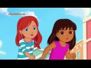 Мультик Даша Путешественница и Друзья Приключения в городе серия 2 Puppy Princess Rescue