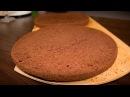 Шифоновый шоколадный бисквит Рецепт Chiffon chocolate cake Recipe Я ТОРТодел