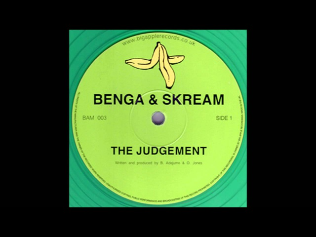 Skream Benga The Judgement BAM003