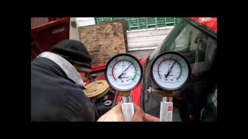 Переделка косячного удлинителя компрессометра.