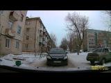 Конфликт автомобилистов на улице Сызрани