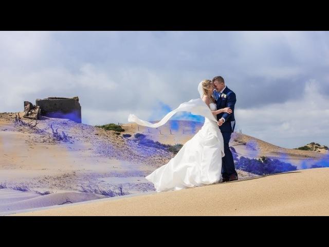 Свадьбный SlideMovie фильм Тэссы Dэми «На дюнах северного моря...»