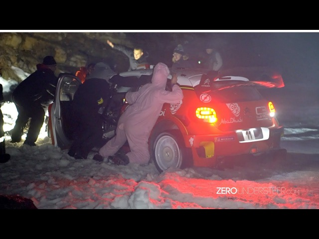 WRC Rallye Monte Carlo 2018 | Crash, mistakes FLATOUT action