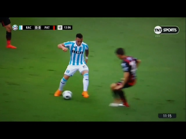 Lautaro Martinez crazy nutmeg vs Patronato HD