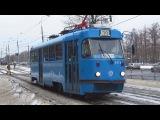 Трамвай Tatra-t3 (МТТА-2) в брендовой окраске