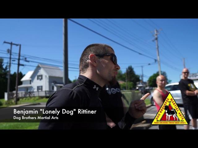 Dog Brothers Martial Arts - Heart-Mind-Balls - Benjamin Lonely Dog Rittiner