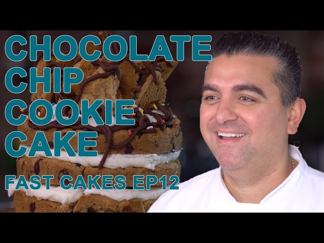 Chocolate Chip Cookie Cake | Fast Cakes Ep12