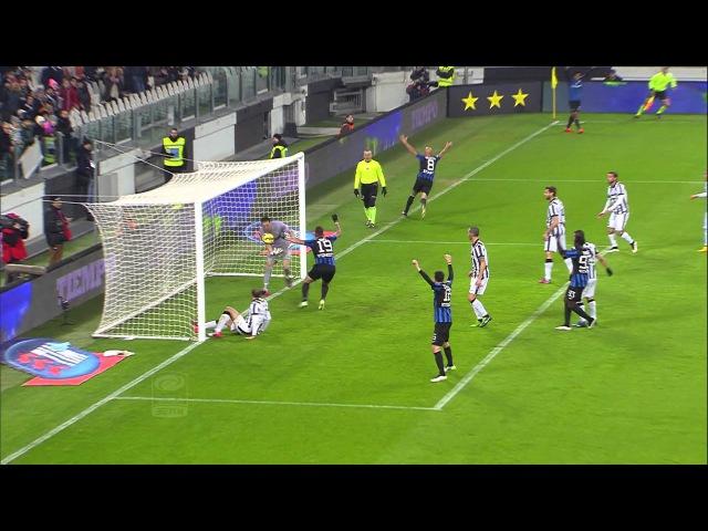 Juventus - Atalanta 2-1 - Highlights - Giornata 24 - Serie A TIM 2014/15