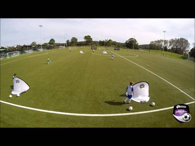Newcastle Permanent Skill of the Week - Session 7: Running with the Ball