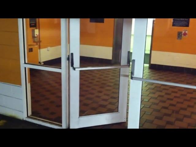 Jesus Christ it's a Music Door