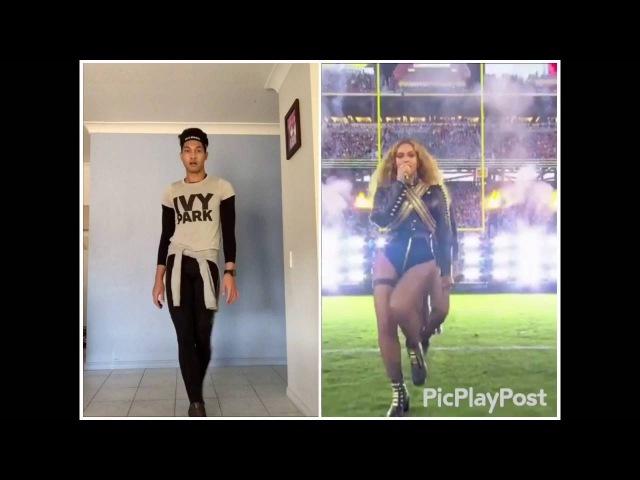 Beyoncé-Formation dance cover wearing IVY PARK