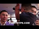 GOLOVKIN REUNITES WITH GABRIEL ROSADO, SHOWS RESPECT; WARRIOR GETS PROPS FOR STEPPING UP