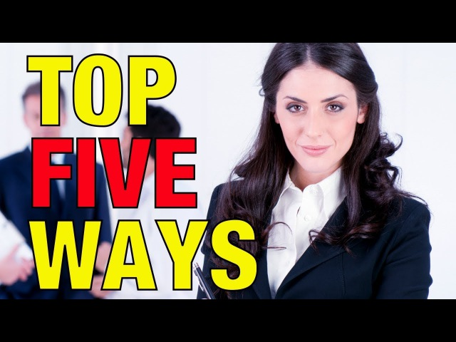 Top Five Ways To Deal With Dominant Women MGTOW