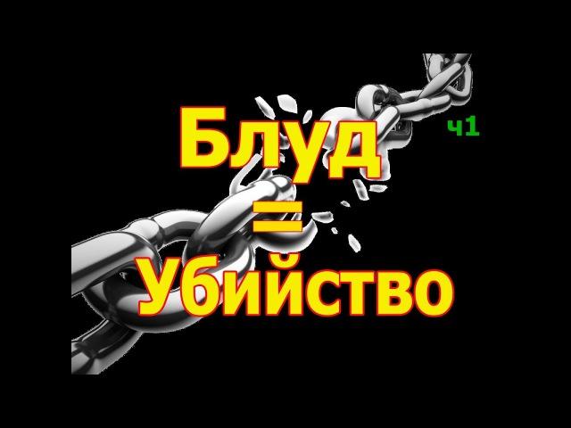 (ч.1)ВАЖНО 18! ВСЕГДА в начале блуд, потом ВСЕГДА проливается кровь. Протоиерей Андрей Ткачёв
