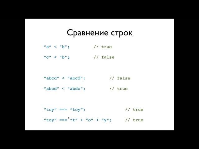 JavaScript, урок 2: Строки. Объекты. Прототипы.