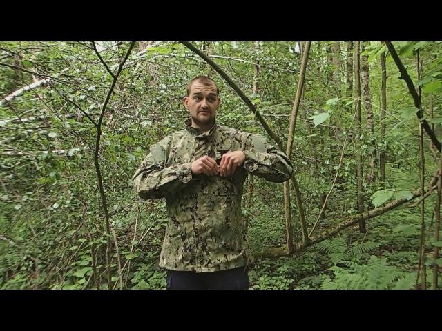 Обзор - китель NWU (Navy Working Uniform) Type III shirt в расцветке AOR2