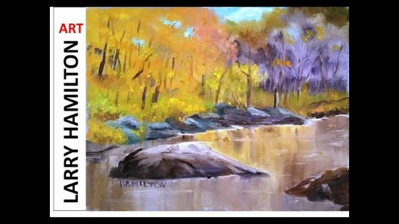 Oil Painting with Larry Hamilton-Live-